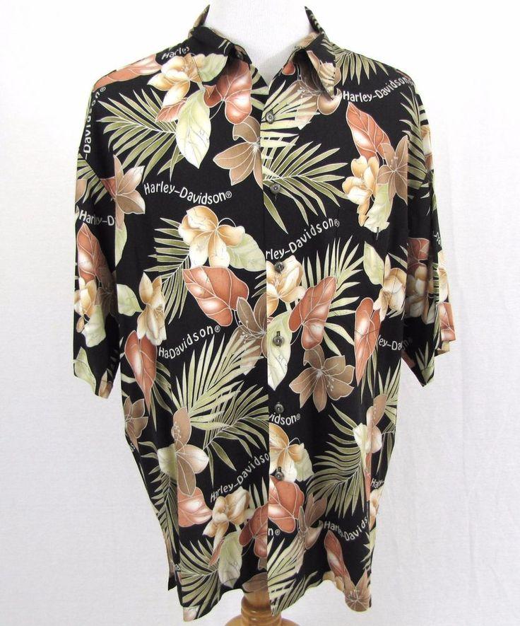 Harley Davidson Hawaiian Dress Shirts