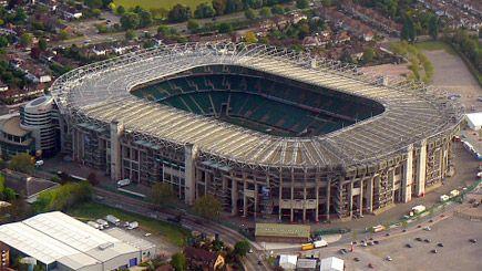 Birds eye view of the North to South stand of Twickenham Stadium #London #Venue
