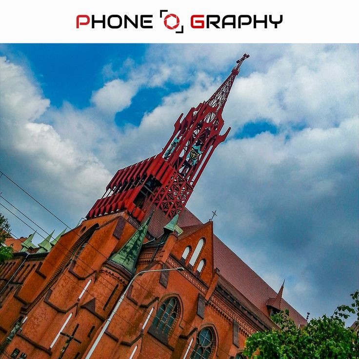 Tower of cathedral building in Wroclaw Find me on Fotolia / Adobe Stock: 111031742 http://bit.ly/pog-17  #phoneography #fotolia #instant #adobestock #igers #igerswroclaw #igerspoland #wroclaw #wroclove #miastospotkan #cross #tower #clock #cathedral #katedra #brick #bluesky #sky #clouds #cloudyday #hdr #nofilter #photoshop #retouch #17