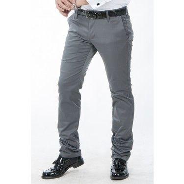 LUPEY1502147-012 Gri Erkek Pantolon Battal Boy Arka Cep Armalı - 64.81 TL + KDV