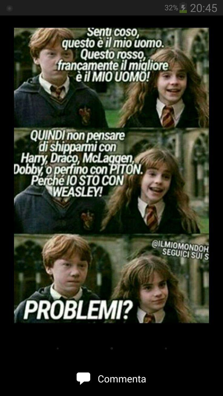 Ditemi che non sono l'unica che viene snervata dalle foto che si trovano di hermione che sta con draco o con chissa chi