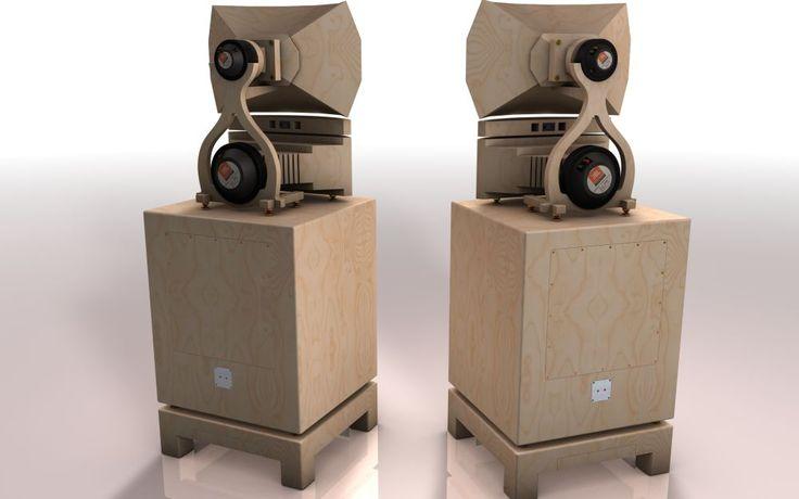 les 9 meilleures images du tableau enceinte sur pinterest haut parleur haut parleurs et systeme. Black Bedroom Furniture Sets. Home Design Ideas