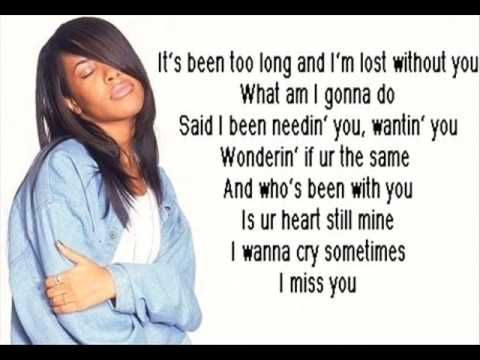 Aaliyah - I Miss You (Music Video) - YouTube