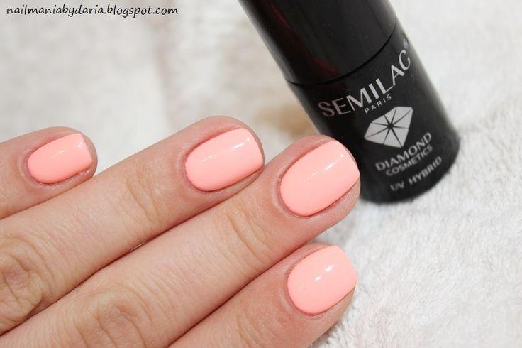 Jednym z moich ulubionych kolorów od Semilac  jest  Sleeping Beauty  którego jeszcze nigdy nie pokazywałam a nosiłam na paznokciach już ki...