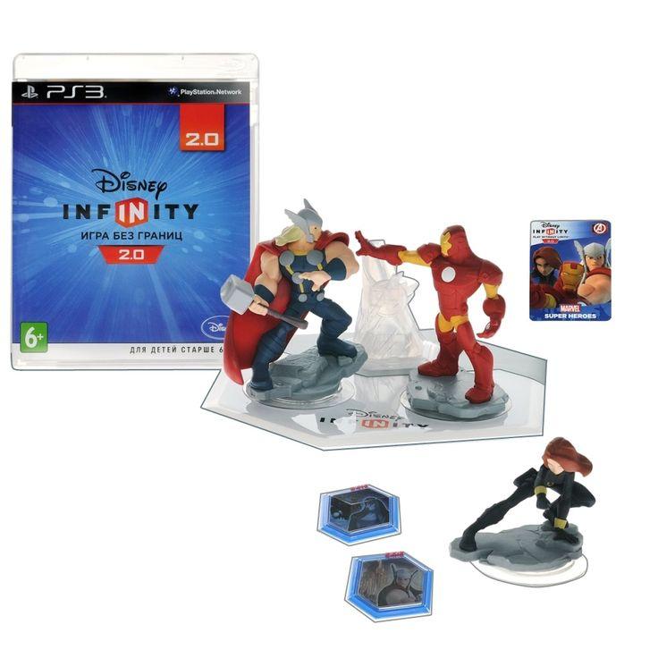 Disney Infinity 2.0 (Marvel). Стартовый набор Игра для PS3