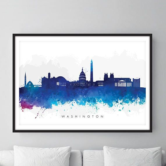 Hey, I found this really awesome Etsy listing at https://www.etsy.com/uk/listing/545888992/washington-dc-skyline-cityscape-art