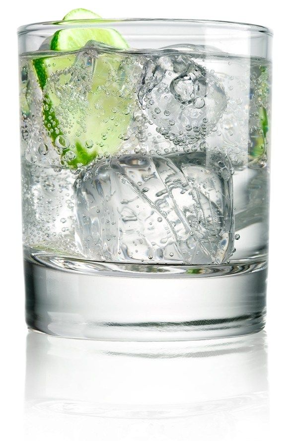 Swap gin and tonic…  Touted as a brilliant tipple for slimmers, the sugary tonic mixer brings as many calories to the table as the gin.   Calories: 107 for a single