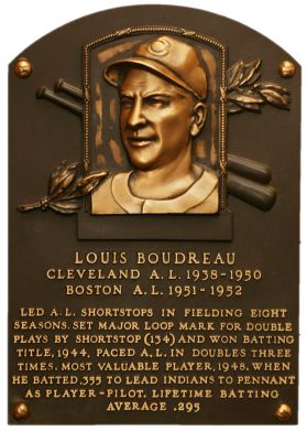 July 17  Happy Birthday to the late Cubs manager and announcer, Lou Boudreau.  Hall of Famer    Photo from baseballhall.orgHappy Birthday