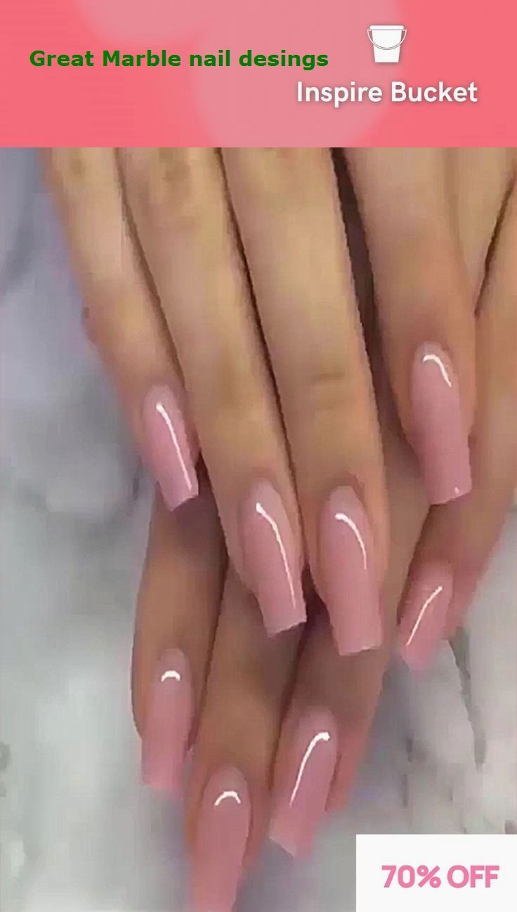 25 Marble Nail Design With Water Nail Polish 1 In 2020 Cute Acrylic Nail Designs Purple Nails Pink Ombre Nails