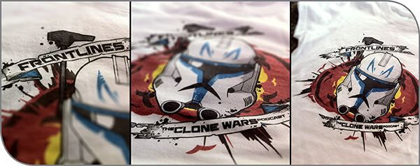 Frontlines: The Clone Wars Podcast Shirts