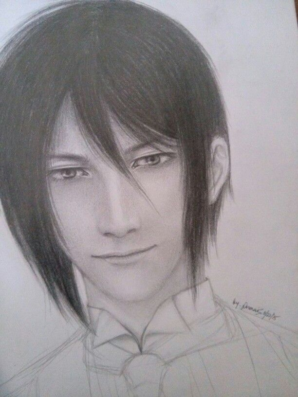 My..Chaelis Black Butler sebastianmichaelis #blackbutler drawing fanart #simple kuroshitsuji anime demonbutler