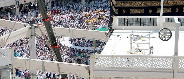 Haram to be clear of mataf bridge by May 27