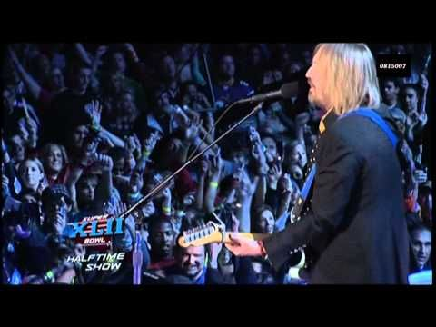 Tom Petty & The Heartbreakers - Super Bowl 42 (XLII) Halftime Show, 2008:  1. American Girl; 2. I Won't Back Down; 3. Free Fallin';  4. Runnin'  Down A Dream