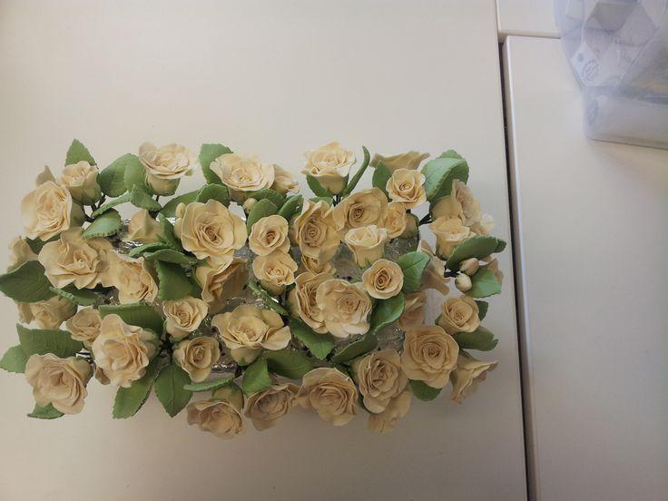 Ivory SugerCraft Flowers