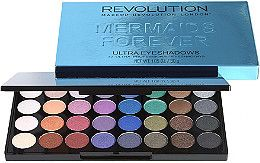Makeup Revolution Mermaids Forever 32 Piece Eyeshadow Palette