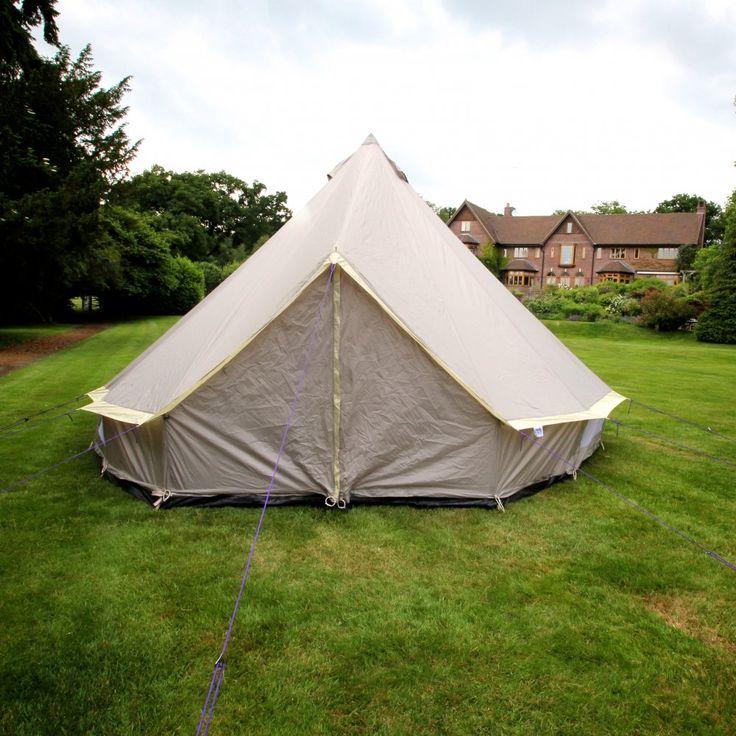 Boutique Camping Leichtes hellbraunes Rundzelt - Boutique Camping von Boutique Camping UK