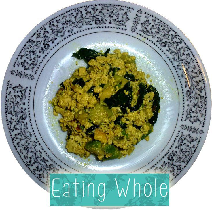 Avocado and Spinach Scramble | Vegan | Pinterest