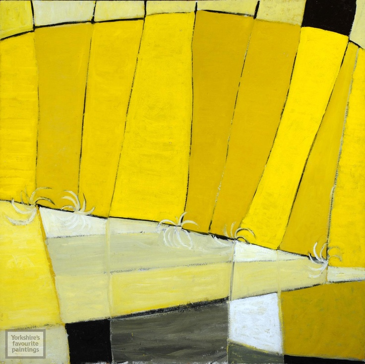 High Yellow by Terry Frost - Yorkshires Favourite Paintings