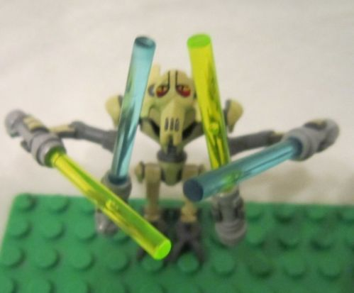 Lego Star Wars Minifigure General Grievous 4 Sabers from 8095 | eBay
