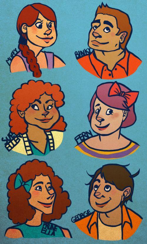 Arthur characters as human teenagers.