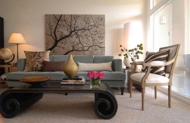 wohnzimmer beige blau ~ inspiration layout in ihrem zuhause - Wohnzimmer Beige Blau