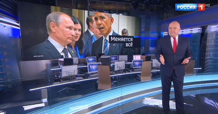 """RUSSIAN TV: U.S. COULD STAGE FAKE """"PROVOCATION"""" TO LAUNCH WAR Prime time host warns of secret plot"""