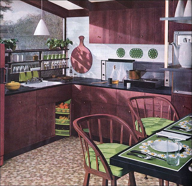 20 Years Of Mid Century Kitchen History   In 24 Favorite Images | Armstrong  Flooring, Mid Century And Retro Renovation