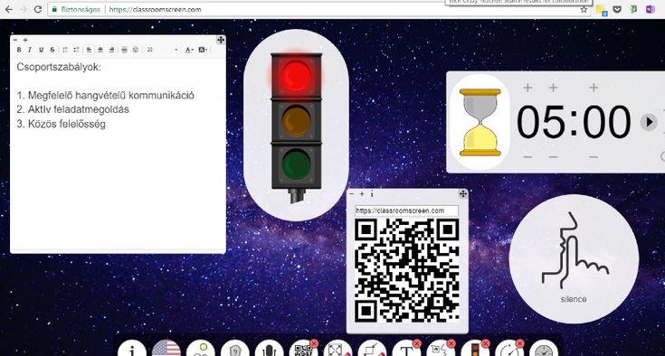 Interaktív tábla weben - QQCSKA