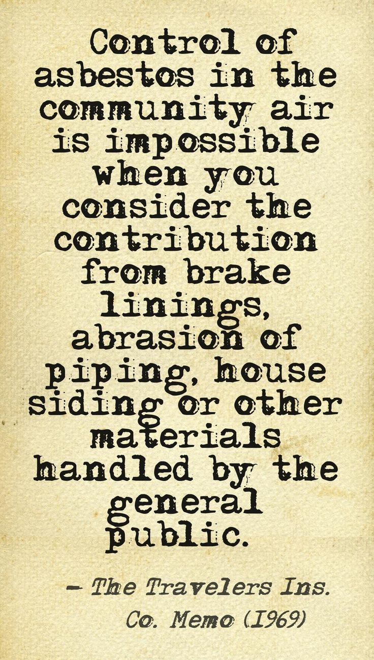 Brake Quotes 19 Best Asbestos Photos And Quotes Images On Pinterest  Federal