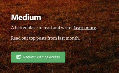 Twitter Co-Founder Evan Williams' Blogging Platform Medium Opens Signups To All