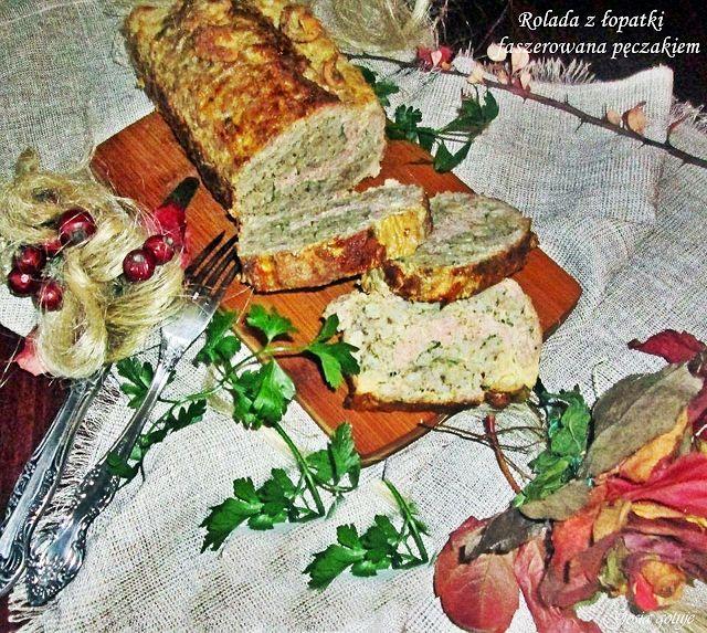 Gosia gotuje: Rolada z łopatki faszerowana pęczakiem