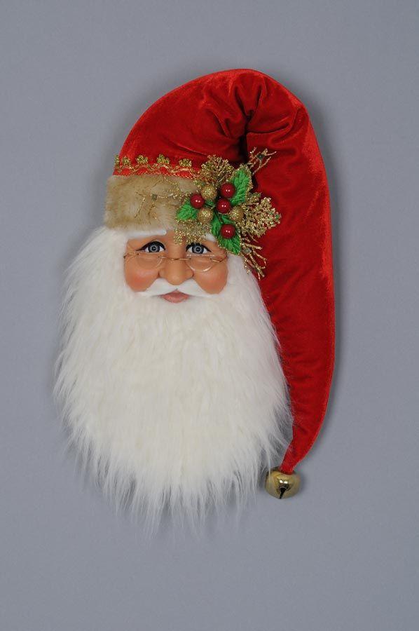 """Decorative Figurine - """"Santa Wall / Door Hanger"""""""