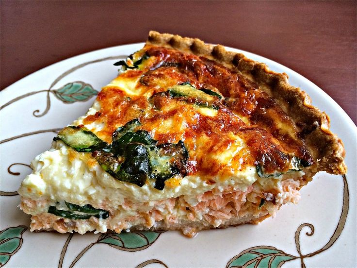 Salmon Quiche | Make Ahead Meals For Busy Moms