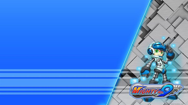 About Mighty No.9  and the Wallpaper In Mighty No. 9 you play as the android; Beck in a 2D platforming game that blends 2D and 3D artwork and animation, it's produced by Keiji Inafune co-creator of Mega Man. Mighty No. 9 very closely resembles that kind of gameplay and is considered by many as its spiritual successor. This game started on Kickstarter and got funded real quick and keep adding stretch goals. The story goes like that at some point a computer virus attacks the rest ...