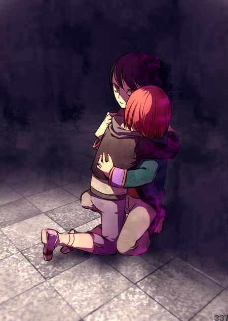Awwww <3 Ren and Nora