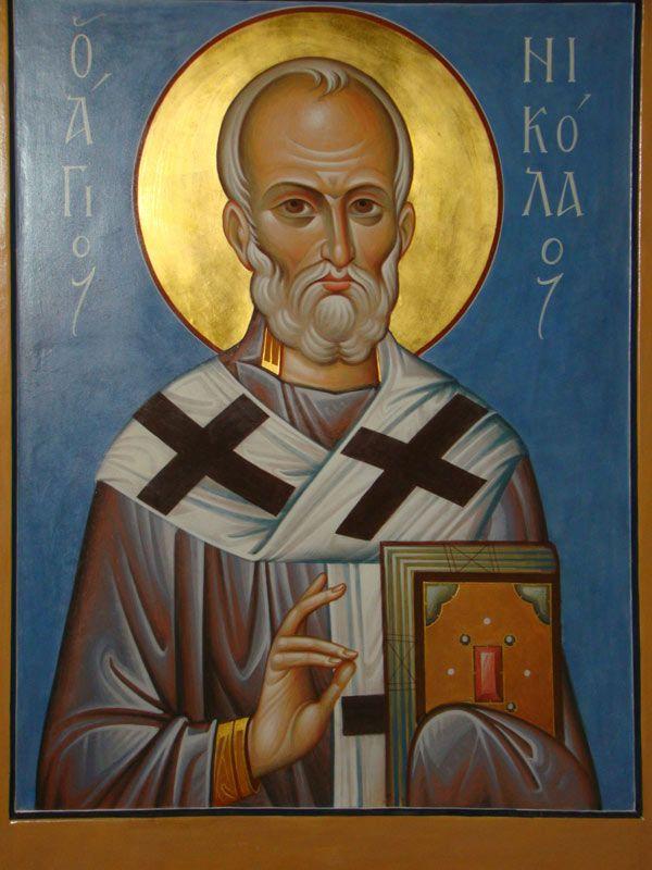 Saint Nicholas the Wonder-Worker. New icon.