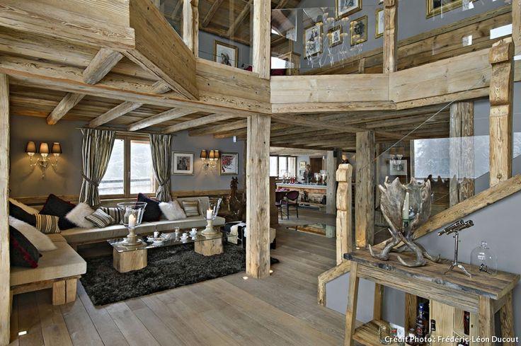 Chalet suisse salon