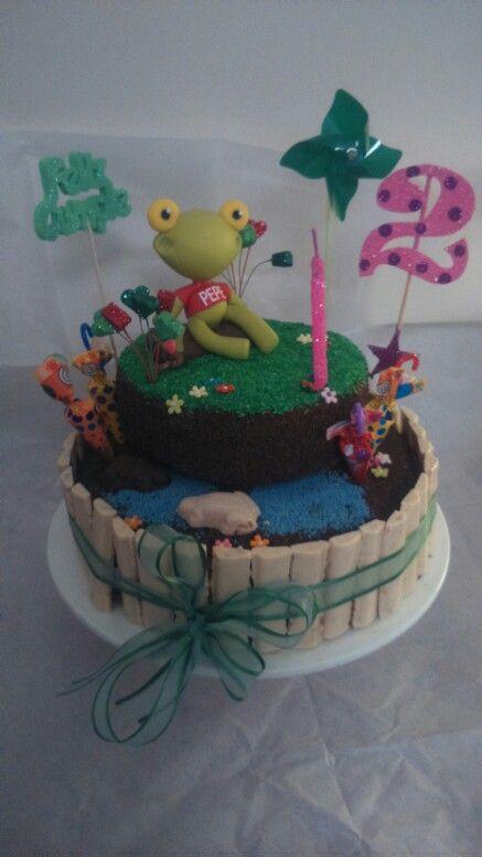 Mi torta del Sapo Pepe. My cake frog