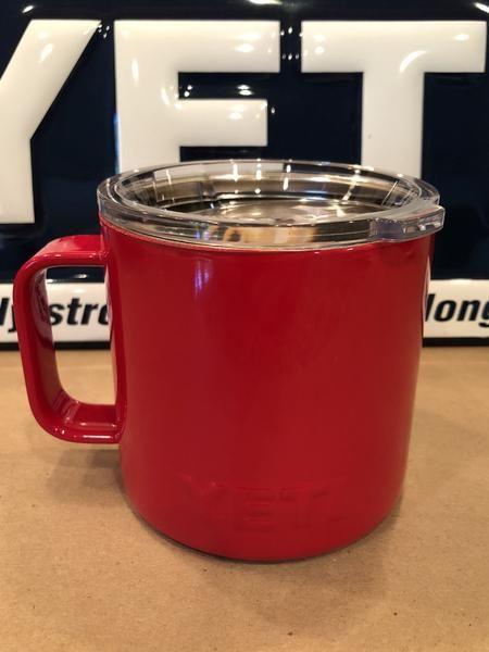 Yeti Cup Prices >> Custom Powder Coated Gloss Red Yeti Rambler Camp Mug All Yeti