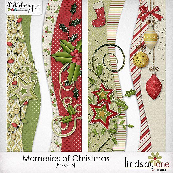 Memories of Christmas Borders