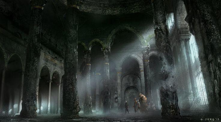 Fantastic 4 Concept Art (Doom's Castle, Planet zero) source: imgur.com