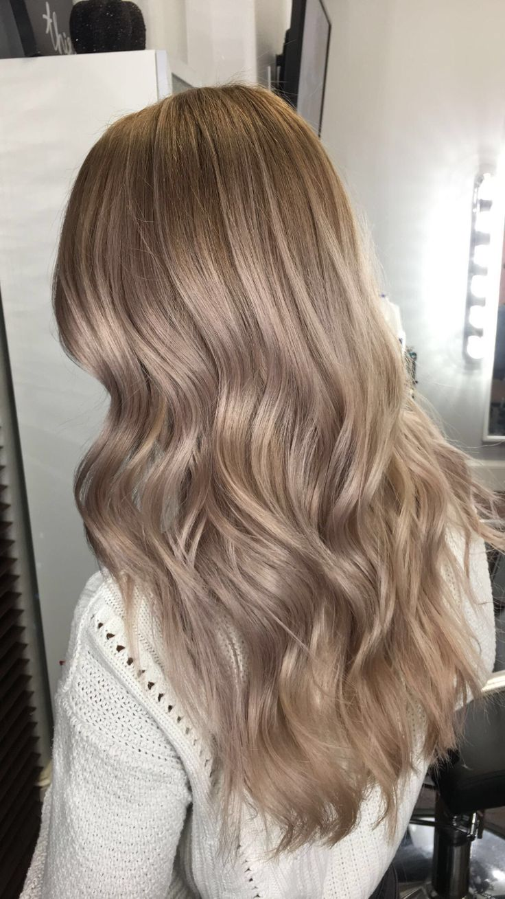 Ashly Blonde- Grey Lilac Tone Winter Blonde Hair done by @hairwizt (insta- handle)