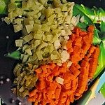 Sałatka warzywna bez majonezu