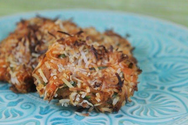 More than Words: Sweet Potato Coconut Tuna Patties