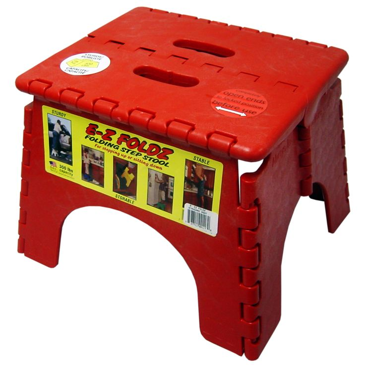 EZ Foldz Step Stool - Even a compact stool can raise you up to bold new heights! The B and R Plastics 9 in.  sc 1 st  Pinterest & Best 25+ Plastic step stool ideas on Pinterest | 3 step stool ... islam-shia.org
