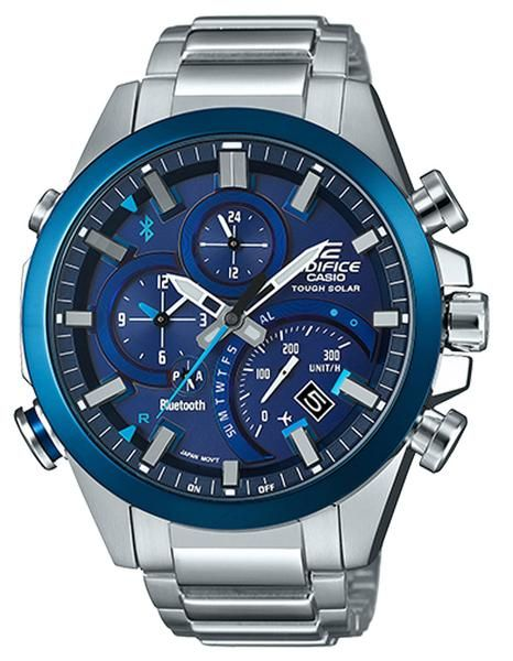5ea7e175367 The stunning new Edifice boasts improved accuracy due to an Accurate Time  System ...
