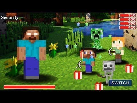 New Boss! Herobrine! FNaF World - Minecraft (Mod) 2018