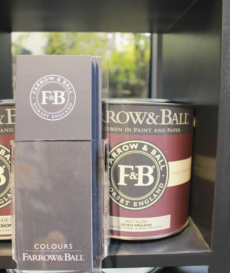 We are full stockists for Farrow&Ball paint and paper!