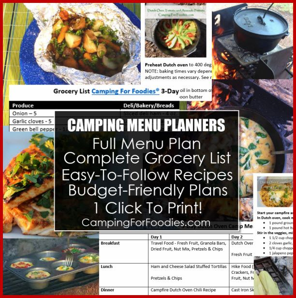20 Easy Camping Recipes For Your Family: 614 Best Summer Fun Images On Pinterest