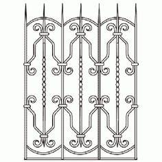 Металлические кованые решетки на окна в Москве. Купить железные оконные решетки по цене производителя. Изготовление на заказ ажурных решеток.